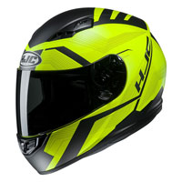 Full Face Helmet Hjc Cs-15 Faren Fluo Yellow