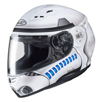 Casco Moto Hjc Cs-15 Star Wars Storm Trooper
