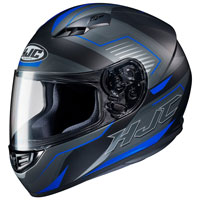 Casco Moto Hjc Cs-15 Trion Blu