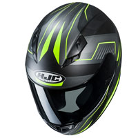 Casco Moto Hjc Cs-15 Trion Giallo