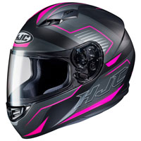 Casco Moto Hjc Cs-15 Trion Rosa
