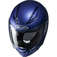 Casco Hjc F70 Blu Opaco