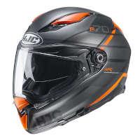 Casco Hjc F70 Tino Arancio