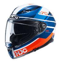 Casco HJC F70 Tino azul
