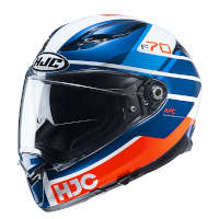 Casco Hjc F70 Tino Blu