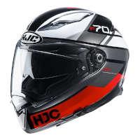 Casco Hjc F70 Tino Rosso