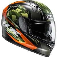 Hjc Fg St Kume Mc7sf Arancio Verde Nero