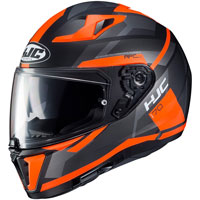 Full Face Helmet Hjc I70 Elim Orange