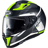 Full Face Helmet Hjc I70 Elim Yellow