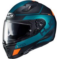 フルフェイスヘルメット Hjc i70 カロンガソリングリーン