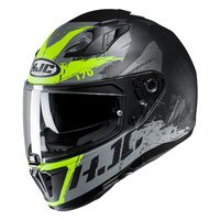 Full Face Helmet Hjc I70 Rias Yellow