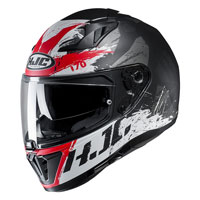 Full Face Helmet Hjc I70 Rias Red