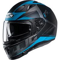 Hjc I70 Eluma Helmet Black Blue