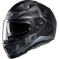 Hjc I70 Eluma Helmet Black Grey