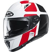 Hjc I70 Prika Helmet White Red