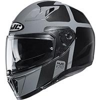 Hjc I70 Prika Helmet Black Grey