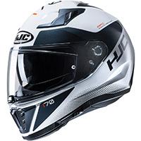 Hjc I70 Tas Helmet White Black