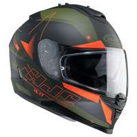 Hjc Is-17 Armada Mc7f Nero Verde Arancio