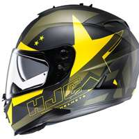 Hjc Is-17 Armada Mc3f Giallo Nero