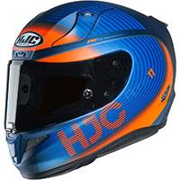 Hjc Rpha 11 Bine Helmet Blue Orange