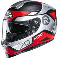 Hjc Rpha 70 Shuky Helmet Grey Red