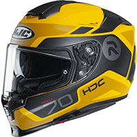 Hjc Rpha 70 Shuky Helmet Yellow Black