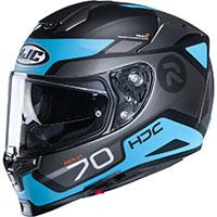Hjc Rpha 70 Shuky Helmet Blue Black