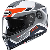 Hjc Rpha 70 Shuky Helmet Grey Blue Red