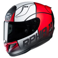 Full Face Helmet Hjc Rpha 11 Quintain Red