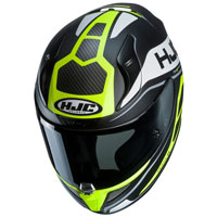 Full Face Helmet Hjc Rpha 11 Saravo Yellow
