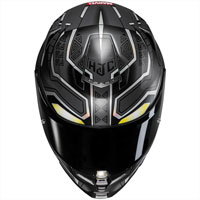 Hjc Rpha 70 Black Panther Marvel - 3