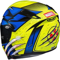 Casco Integrale Hjc Rpha 70 Wolverine X-men - 4