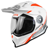 Just-1 J14 Solid White Orange