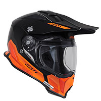 Casco Just-1 J14 F Elite naranja negro