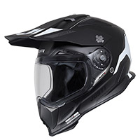 Casco Just-1 J14 F Elite blanco negro opaco