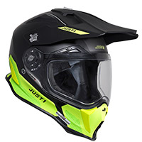 Casco Just-1 J14 F Elite amarillo fluo opaco