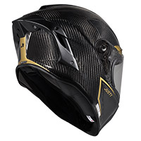 Casco Just-1 J GPR Carbon Golden Road brillo