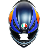 Agv K1 E2205 Power Bleu Orange Blanc