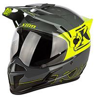 Klim Krios Covert Hi-vis Helmet Yellow