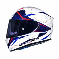 Mt Helmets Kre Sv Intrepid B2 White Red