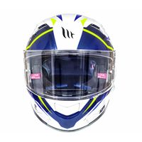 Mt Helmets Kre Sv Intrepid B3 White Yellow