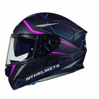 Mt Helmets Kre Sv Intrepid C2 Black Pink