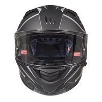 Mt Helmets Kre Sv Intrepid C3 Matt Black
