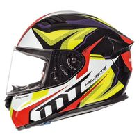 Mt Helmets Kre Lookout G4 Red Yellow