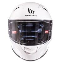 Mt Helmets Kre Sv Solid White