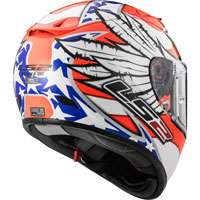 Ls2 Arrow R Evo Ff323 Freedom White/orange/blue - 3