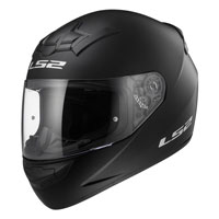 Ls2 Rookie Ff352 Solid Nero Opaco