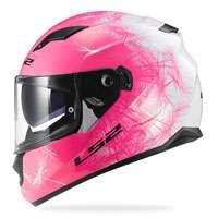 Ls2 Stream Ff320 Wind Bianco/rosa Fluo Donna