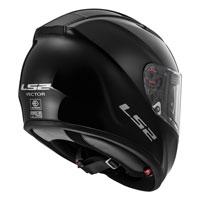 Ls2 Vector Ff397 Solid Black