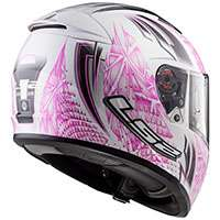 Ls2 Breaker Ff390 Rumble White Pink
